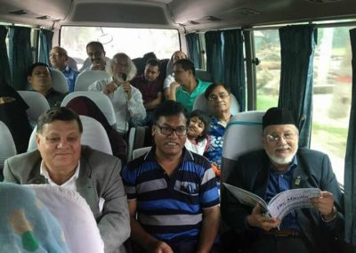 Club Members on the way to Hospital visit, 2016