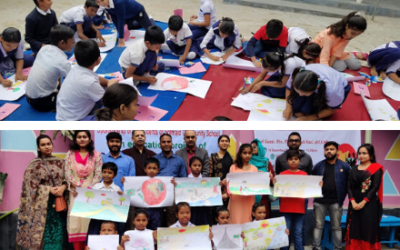 Victory Day Art Competition at Solmaid Community School